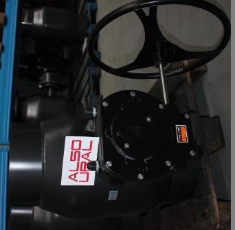 Кран шаровой приварной КШ.П.350.16-01 Ду350 Ру16